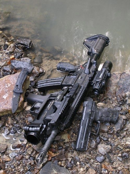 HK416. guns, weapons, self defense, protection, protect, knifes, concealed, 2nd amendment, america, 'merica, firearms, caliber, ammo, shells, ammunition, bore, bullets, munitions #guns #weapons
