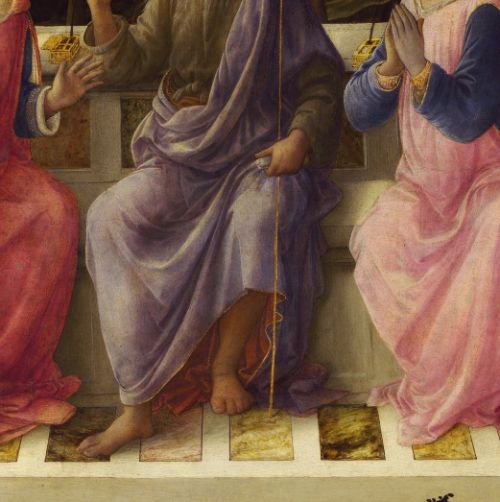 art as prophecy in fra lippo Fra' filippo lippi, ocarm , also called lippo lippi, was an italian painter of the   giorgio vasari, the first art historian of the renaissance, writes that lippi was   the apse is the christ crowning the madonna, with angels, sibyls and prophets.