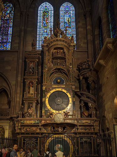Astronomical Clock, Strasbourg, Alsace, France | Flickr ᘡղbᘠ