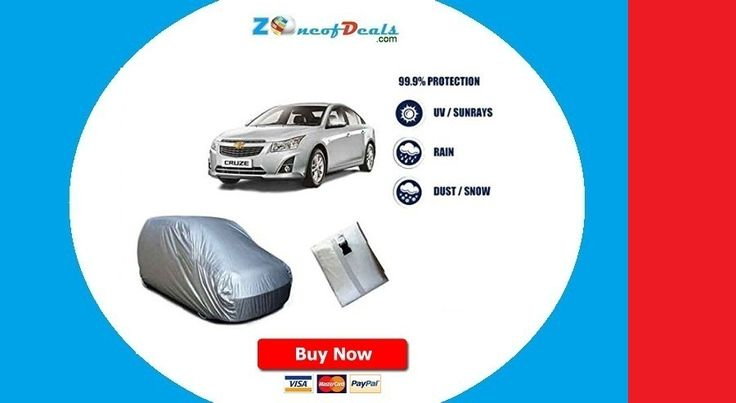 Car Body Covers - Buy Car Body Covers Online at Best Prices In India on zoneofdeals.com... www.zoneofdeals.com Car & Bike Care › Car & Bike Covers Car Body Covers.  Silver Matte Car Body Cover For Chevrolet Cruze SCI-6 @ Rs.540 !