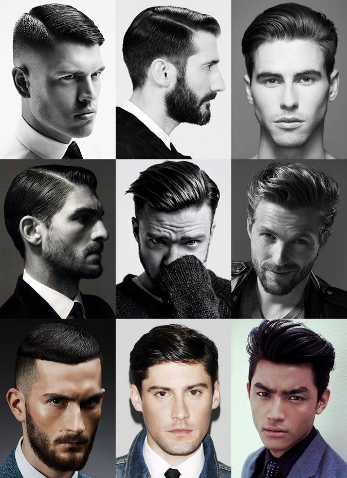 Men's High Shine Party Season Hairstyles