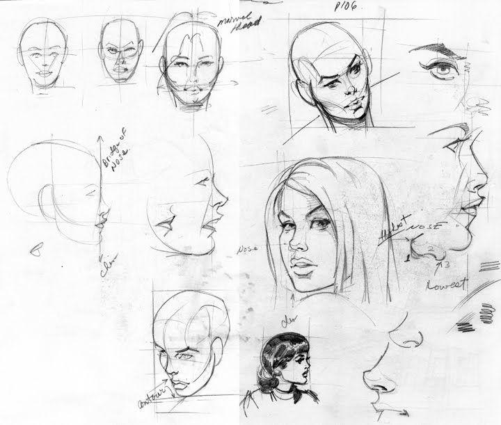 How to Draw Marvel Female | Emery Design Online: The Marvel Way