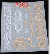 800 estilos flash ouro metálico henna falso body tatoo temporária adesivos de ouros brilho grande tatuagens temporárias em Tatuagens Temporárias de Beleza & saúde no AliExpress.com   Alibaba Group