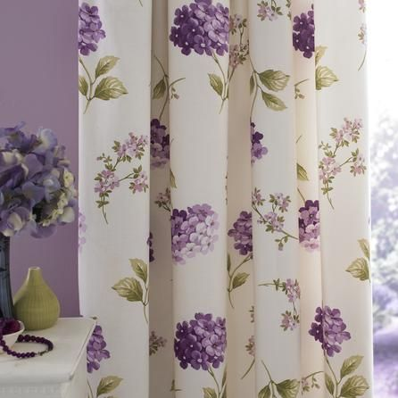 Heather Erin Thermal Pencil Pleat Curtains | Dunelm Mill