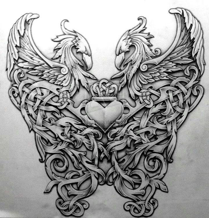 Eagle By Roblfc1892: Tattoo Designs, Tattoos