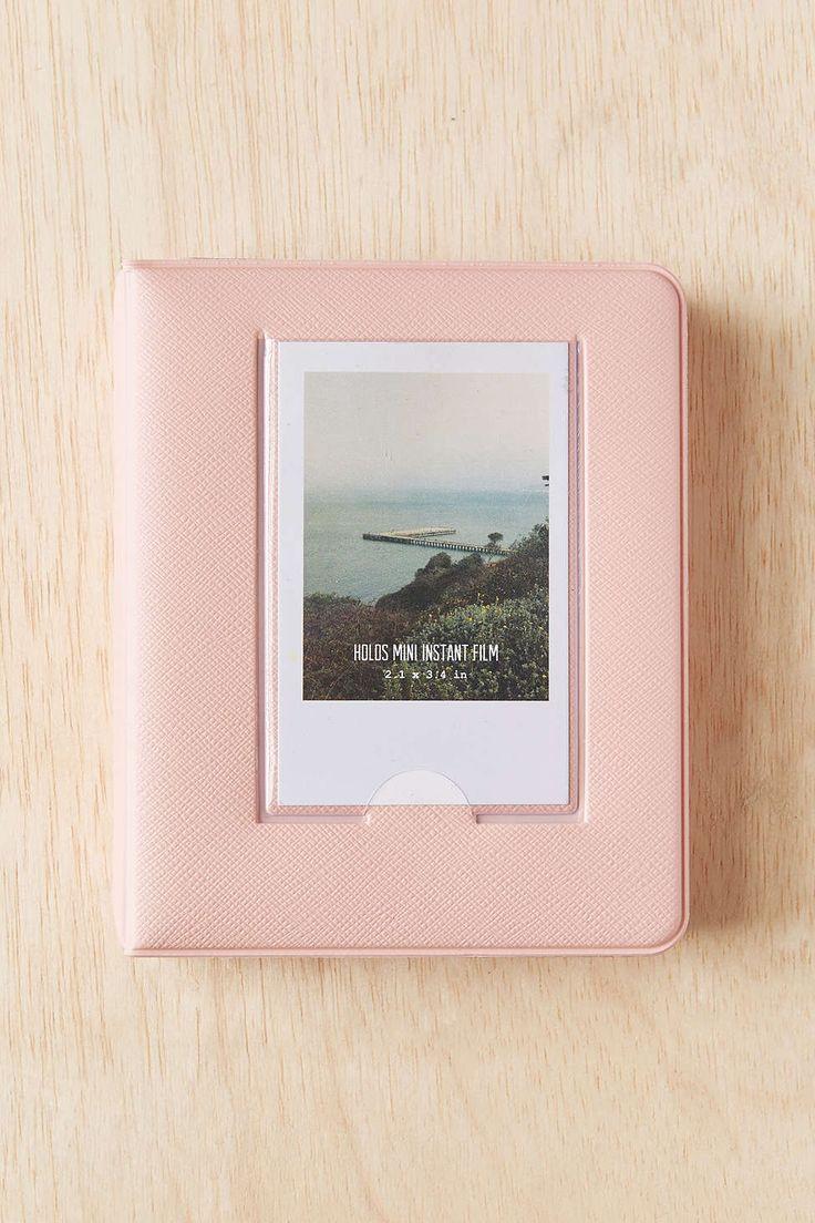 Mini Instax Photo Album in Blush (holds 64 photos)