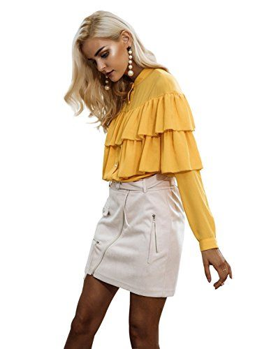 Simplee Women's Elegant Autumn Long Sleeve Ruffles Chiffon Blouse Shirt Tops at Amazon Women's Clothing store: https://www.amazon.com/Simplee-Womens-Elegant-Ruffles-Chiffon/dp/B074V56BMQ/ref=as_li_ss_tl?s=apparel&ie=UTF8&qid=1504637389&sr=1-95&nodeID=7141123011&psd=1&keywords=women+fall+clothing&refinements=p_72:2661618011&linkCode=ll1&tag=milan123-20&linkId=27464be96a93f0beae071df781884712