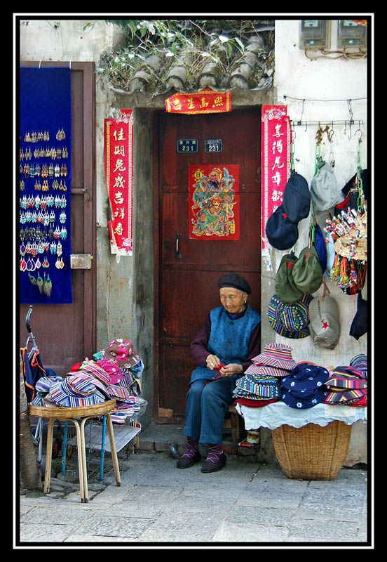 Hats for Everyone - Dali Ancient City, Yunnan