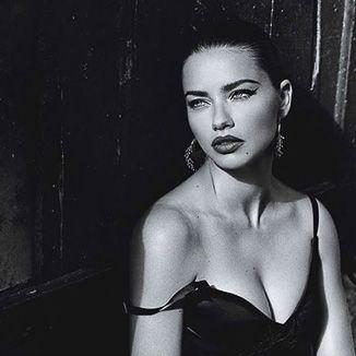 Adriana Lima in Moon Bali Earrings by ISHARYA Jewelry