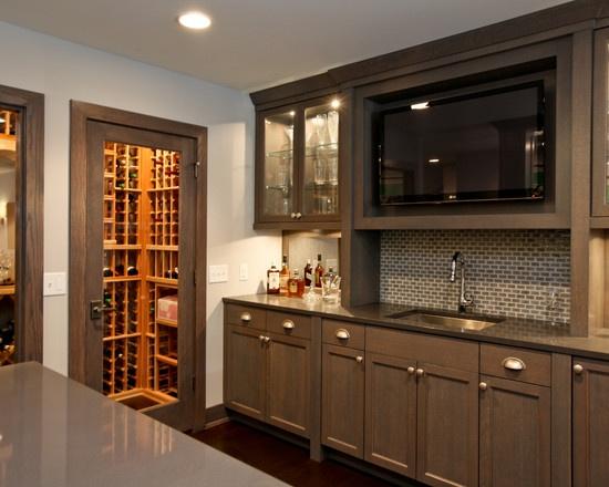 Luxury Wet Bar Basement Ideas