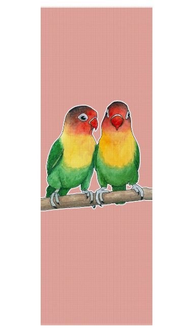 Fischer's lovebirds Yoga Mat by @savousepate on Rageon! #yogamat #lovebirds #birds #parrots #budgerigars #parakeets