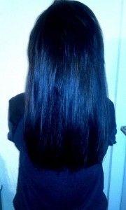 semi long hair, black hair, straight hair, www.magazyn.modadamska.waw.pl