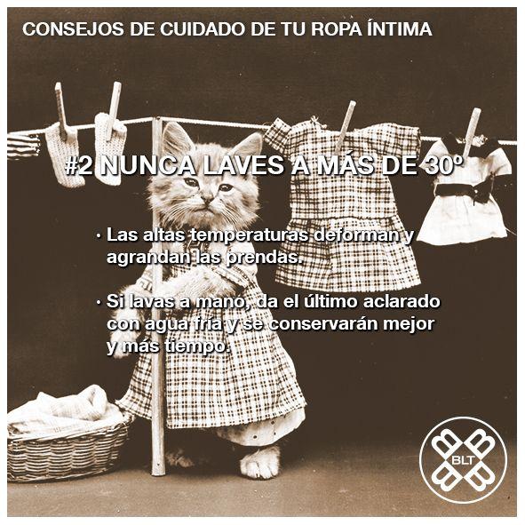 #SalvaTuRopa  Haz que tu #ropaintima dure más tiempo con nuestros consejos de cuidado :)