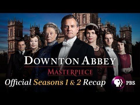 'Downton Abbey' Seasons 1 and 2 video recap: Catch up before the Season 3 premiere. #DowntonAbbey