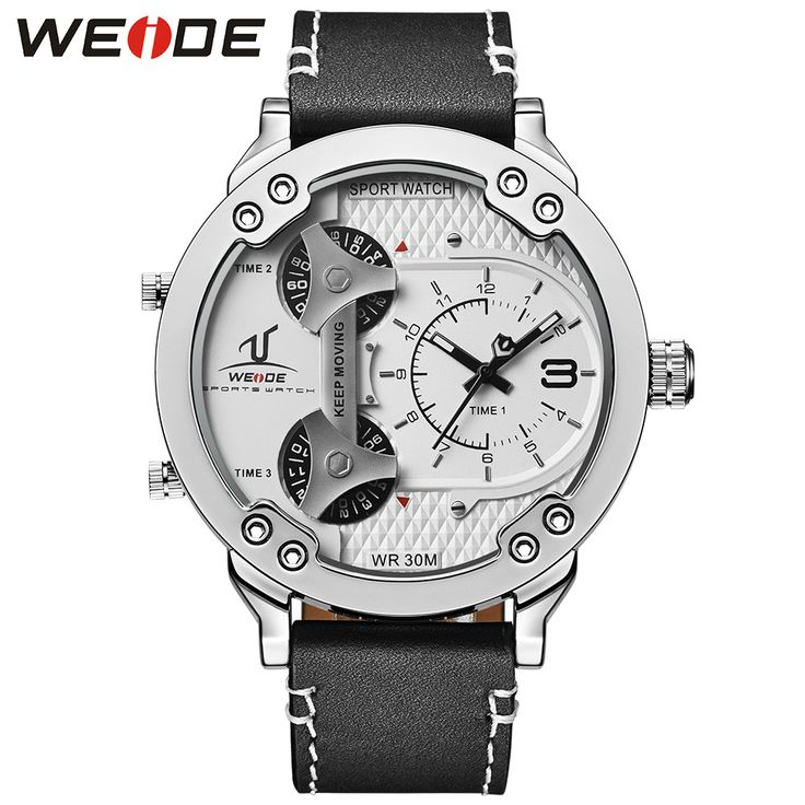 WEIDE 2016 Mens Watches Top Brand Luxury Clock Quartz Men Watch Leather Strap Casual Waterproof Wristwatches 3 Time Montre Homme     Tag a friend who would love this!     FREE Shipping Worldwide     Get it here ---> https://shoppingafter.com/products/weide-2016-mens-watches-top-brand-luxury-clock-quartz-men-watch-leather-strap-casual-waterproof-wristwatches-3-time-montre-homme/