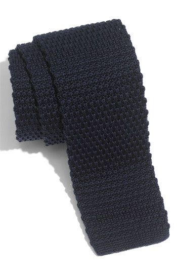 Cool tie - 1901 Skinny Knit Tie available at #Nordstrom $40