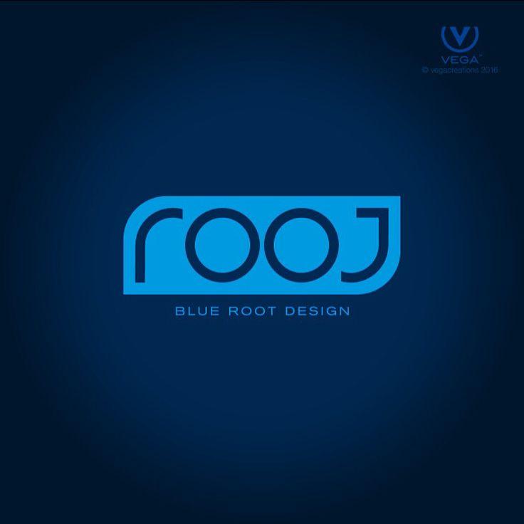 #logo #design for #BlueRootDesign in #bozeman #montana by #vegacteations