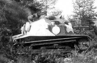 Estonian Tankettes TKS
