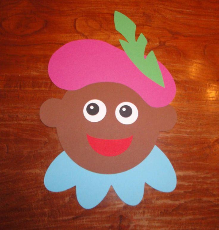 Zwarte Piet knutselen