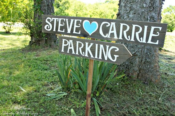 Parking Wedding Sign Parking Sign Country by CountryWeddingSigns, $50.00