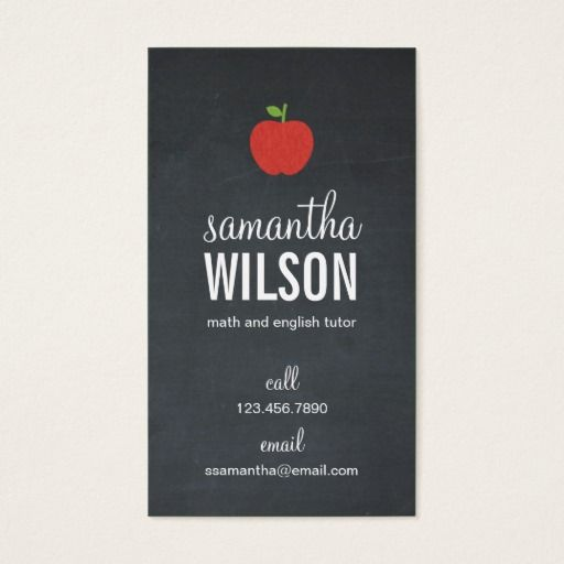 269 best images about Teacher Business Cards on Pinterest