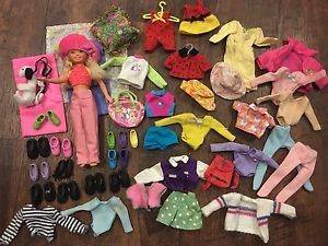 Bowling Skipper Mattel Barbie Doll Lot Clothing Shoes Accessories Bag Hat 59 Pc   | eBay