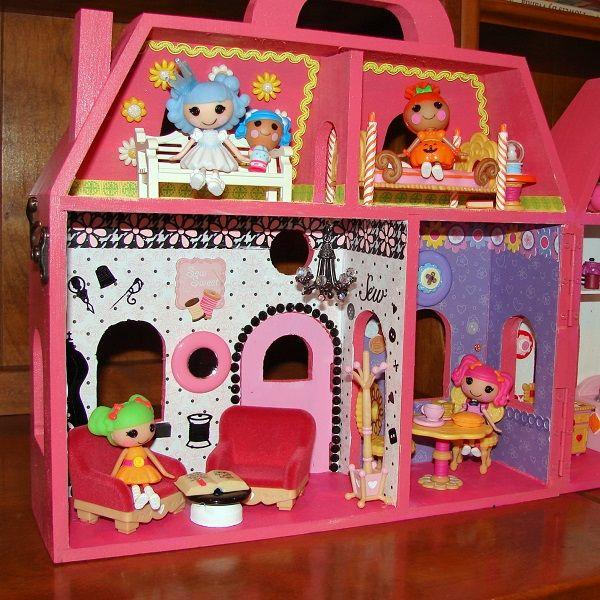 I Created My Own Lalaloopsy Mini Doll House | Living Rooms ... Lalaloopsy  Dollhouse