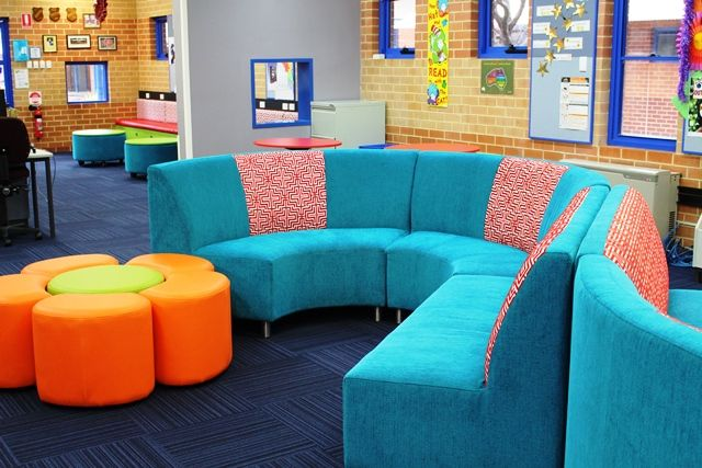 """Fantastic """"S"""" seating for your library"""