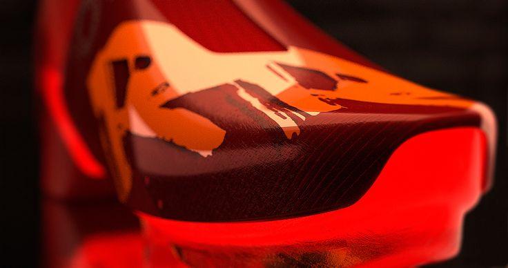 Nike RR 2030 Concept rendered in KeyShot by David Olivares.