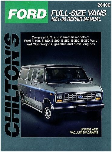 Ford Vans Chilton Repair Manual 1961-1988: The Chilton Total Car Care is the most complete step-by-step… #CarParts #AutoParts #TruckParts