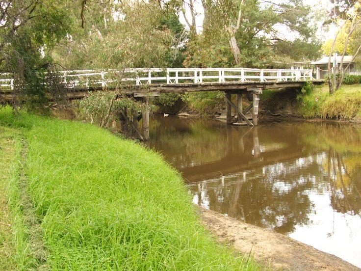 The old bridge over the Seven Creeks