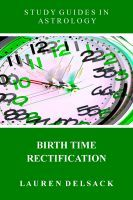 Cover: Birth Time Rectification