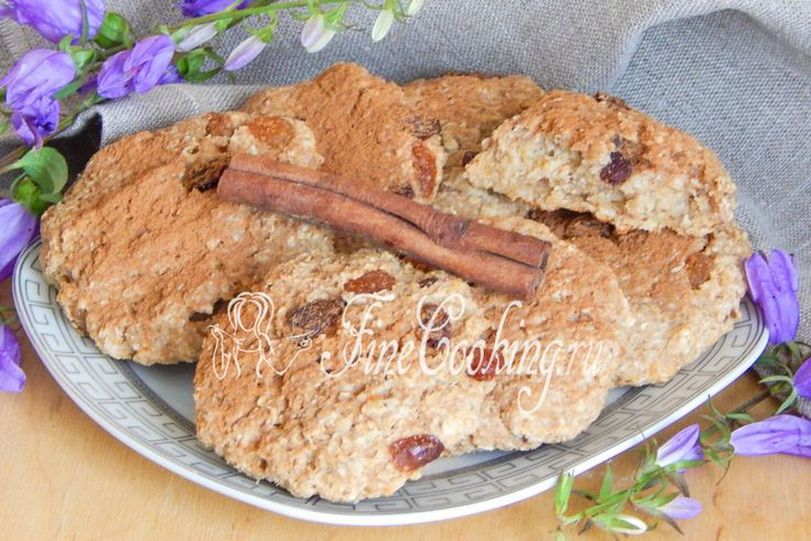 Овсяное печенье для тонкой талии - рецепт с фото