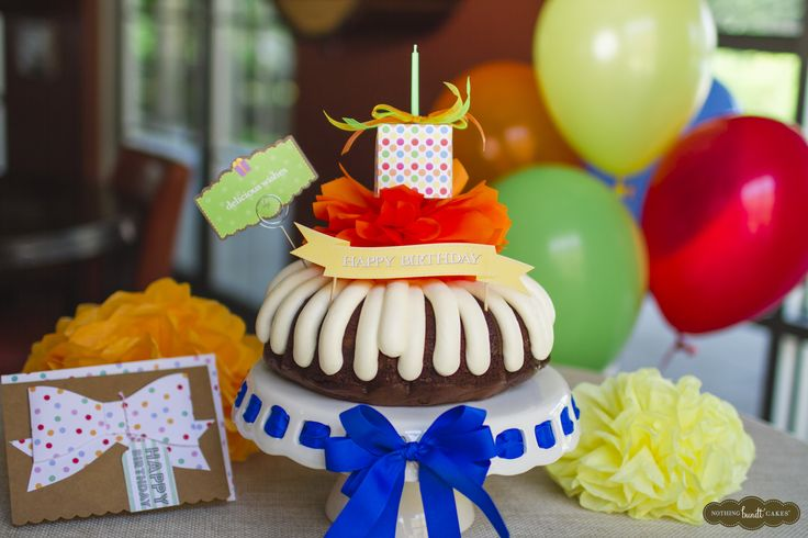 27 Best Have A Happier Birthday With Nothing Bundt Cakes Images On
