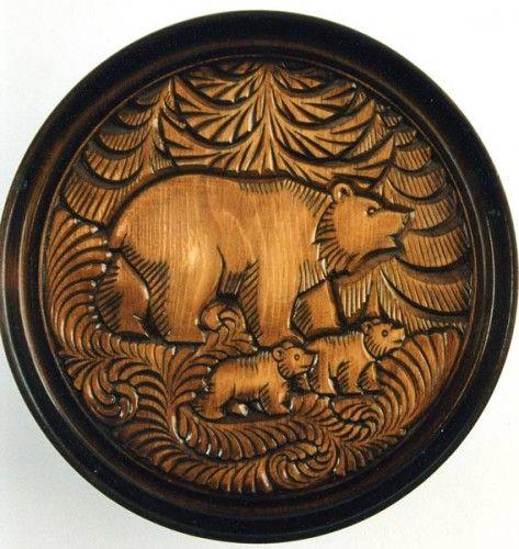 Best bear folk art stuff images on pinterest