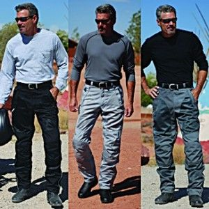 http://www.biggentsclothes.com/big-tall-pants-style-materials-function/  Three guys wearing big and tall pants or jeans.