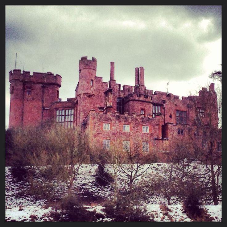 Powis Castle in Wales