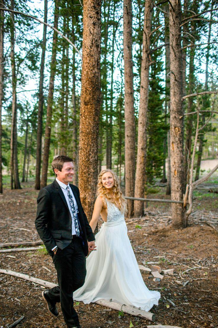 Breckenridge mountain wedding boho bohowedding
