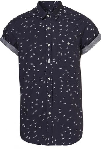 Swallow! Short Sleeve Button Up by Topman $56