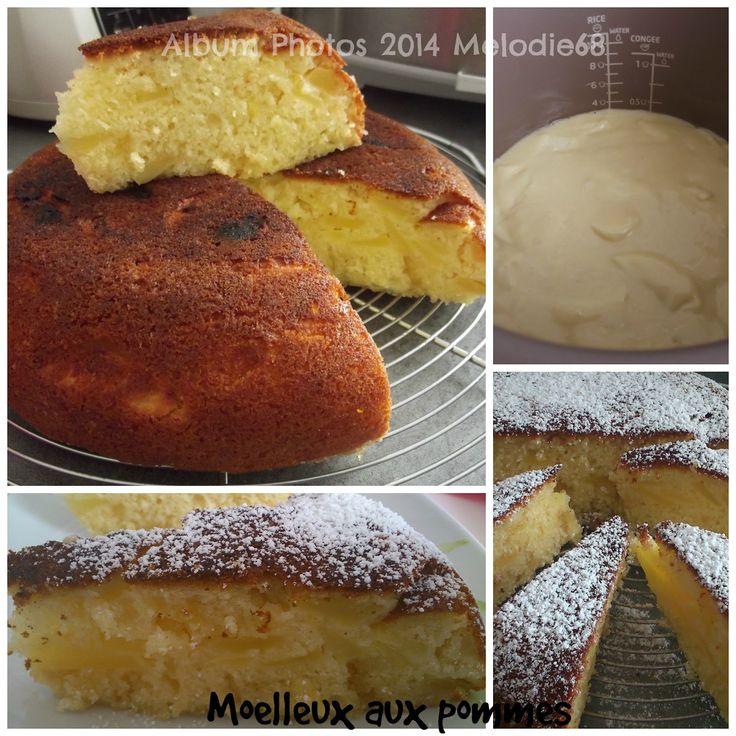 ♥ Les Gourmandises de Melodie68 ♥: Moelleux aux pommes au cuiseur