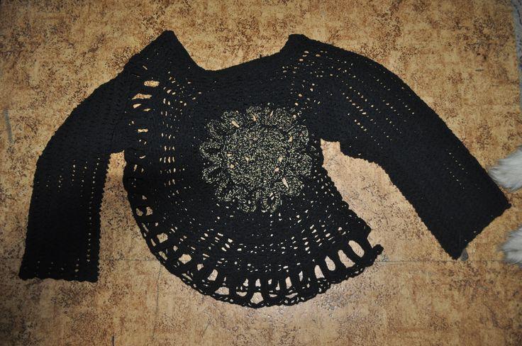 crochet tunika