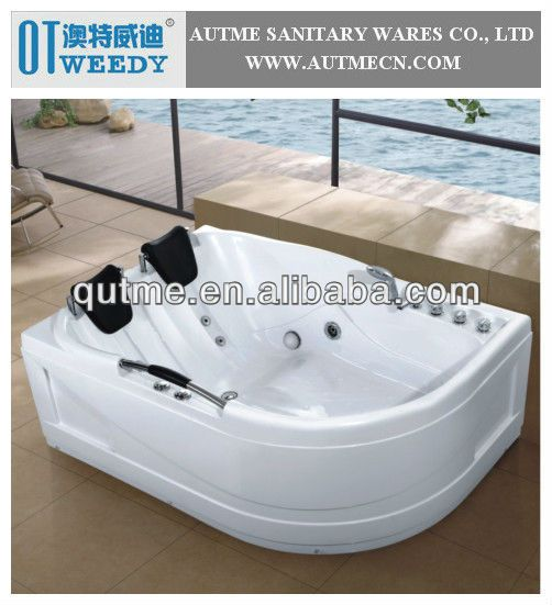 2 Person Indoor Hot Tub with Jet Surf Bathtub Inserts Japanese Tub $250~$400