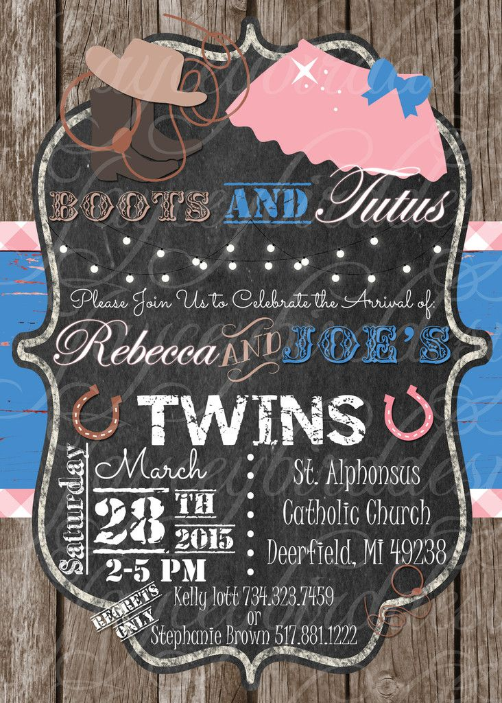 The 38 best Custom Printed Invitations images on Pinterest | Baby ...