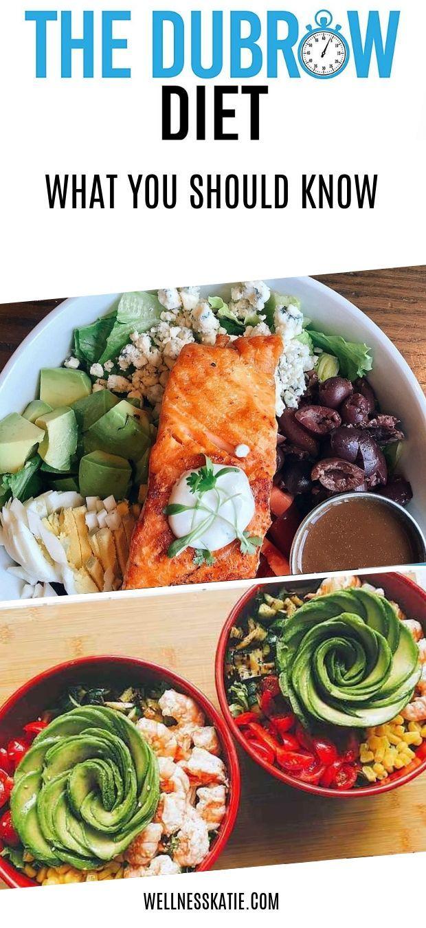 dubrow diet plan food list