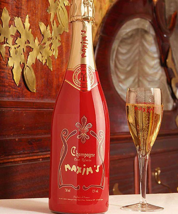 MAXIM'S ANNEES FOLLES BRUT RESERVE, un champagne sofisticado para momentos muy especiales