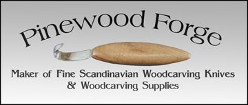 Pinewood Forge Scandinavian Knives--kits, info, links, tools for wood carving