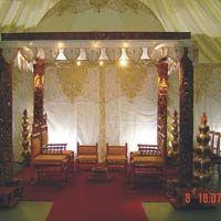 Hand Crafted Wooden Wedding Mandaps, Fiber mandap, wedding mandap