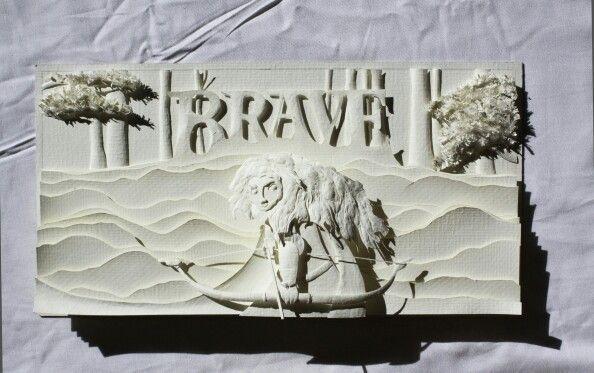 #Merrida #brave #disney #quckcature #pixar #paperart #animation