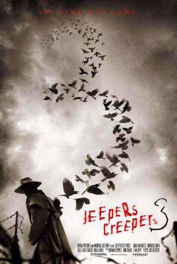 """""""Его время пришло!"""" - утверждает промо-постер фильма """"Джиперс Криперс 3"""""""