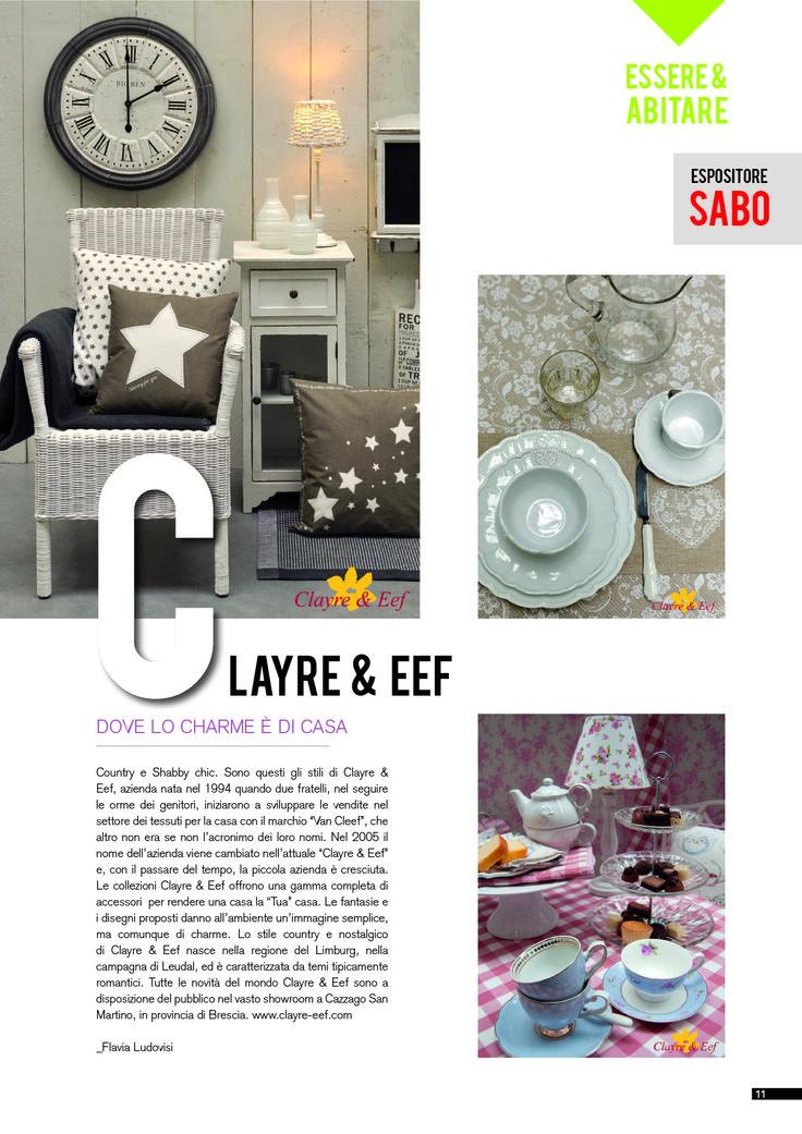 Clayre & Eef Dove lo charme è di casa